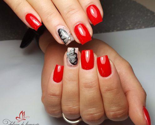 unghii gel unghii tehnice manichiura gel salon Campina coafor 48